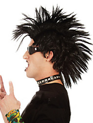 Selling Fashion Festival Special Wig Men High Quality Black Mohawk