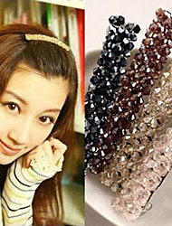 Korea Original Four Rows Of Crystal Hairpin Headdress New  Seven Color Optional