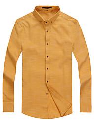 Men's Long Sleeve Slim Fit Non-iron Stretch Shirt