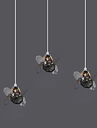 Simple Modern Dandelion Crystal Pendant lamp Patented Product 3A