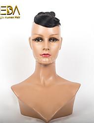 boas 1pcs barato / set cabelo humano tecer molhado ondulado cor natural # 1b 8inch 6 cores availabe