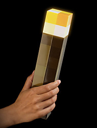 Minecraft Light Up Torch New & Boxed official Product New Brighter Version