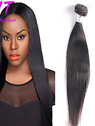 "8""-26"" Brazilian Virgin Hair Natural Black Color Straight Hair Raw Human Hair Bundles Sale"