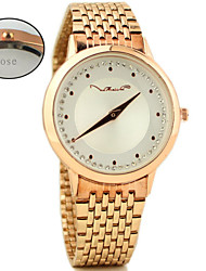 Personalized Gift Women's Analog Watch with Alloy Band