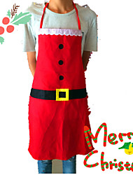 Christmas Decoration Apron Kitchen Aprons Christmas Dinner Party Apron Santa Christmas Kitchen Apron For Woman And Man