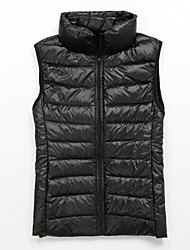 Women' Down Vest Fashional Insulation Thick Down Padded  Waistcoat