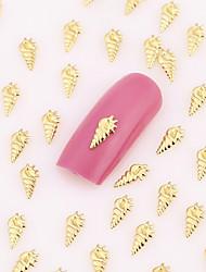 500PCS Nail Art Jewelry Lovely Nail Decorations Gold Hallowmas Christmas Alloy for DIY Aryclic Nails Nail Tips