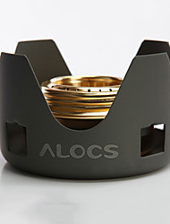 ALOCS® Camping Alcohol Stove(Alcohol stove,Pedestal) Mini Cookware for Hiking/Picnic/Backpacking