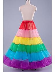 Déshabillés ( Organza , Multicolore ) - Robe trapèze - 2 - 100cm