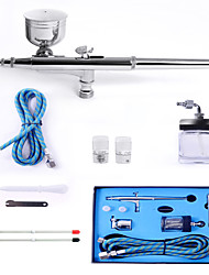 Dual Action Airbrush Kit Needle Air Brush Spray Gun Body Painting Airbrush Makeup Styling Tools Nail Art Tattoos