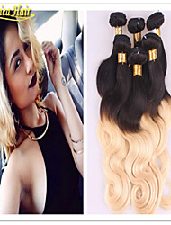 3Pcs Brazilian Virgin Hair Straight Black Blonde Human Hair Weave 8-32inch Human Hair Weave Extension Fast Delivery