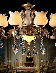 European Crystal Pendant lamp And luxurious living Room lamp