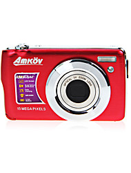 "amkov cámara digital cdoe3 batería hd cámara digital 15.0MP 2.7 ""pantalla lcd de litio 720mAh"