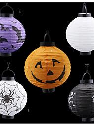 весело Хэллоуин тыква бумаги бар фонарь украшения дома