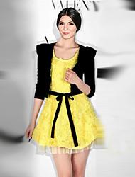 Платье Вязаная одежда