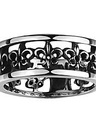 Ringe Ohne Stein Others Einzigartiges Design Modisch Halloween Hochzeit Party Alltag Normal Schmuck Stahl Herren Ring 1 Stück,8 9 10 11