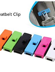 2pcs Seatbelts Clips Safety Stopper Auto Belt Clips For Vehicles Automobile Accessories