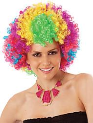 завод оптовая торговля Хэллоуин карнавальные парики партии праздника для тонких, разноцветными синтетические парики