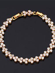 Goud / Zilver / Legering Dames Persona Kralen Collectie Armbanden Bergkristal