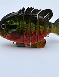 4 Inch Sun Fish Multi Jointed Bluegill  Hard Fishing Lure Bait Swimbait with Treble Hook Pesca