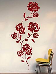 Botanical / Fashion Wall Stickers Plane Wall Stickers , PVC 61cm*25.4cm