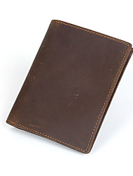Men Wallet Cowhide Casual