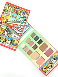 The Balm Makeup Vol.2 Eye Shadow+Blusher+Lipstick Multi-function Make Up Face Matte Eyeshadow Palette Cosmetics