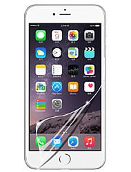 [3-pack] profesional de cristal LCD de alta transparencia protector de pantalla transparente con paño de limpieza para el iphone 6 / 6s