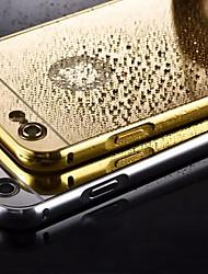 гальванических зеркало обратно с металлический каркас телефон случае для Iphone 5 / 5S (разных цветов)