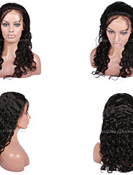 10A Premierwigs 8''-28'' Peruvian CURLY Brazilian Virgin Full Lace Human Hair WigS Natural Color Soft Lace Front WigS