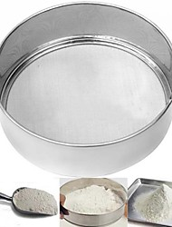 5In Stainless Steel Mesh Flour Sifter Sieve Strainer Cake Baking Kitchen Practical