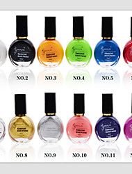 12pcs ногтей печати специальное масло для ногтей