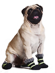 Dog Socks & Boots Green Winter Cosplay