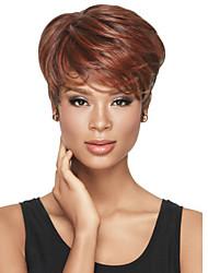 más vendido de Europa y la mezcla de color de Estados Unidos la moda cortos pelucas del pelo recto