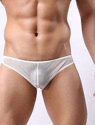 Men's Low Rise Underwear /Mesh Mini /Sexy Transparent Gauze Briefs/Breathable