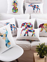 Animal Designs Cushion Cover Soft Material