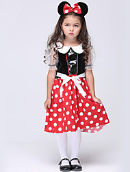 Halloween / Christmas / Carnival / Children's Day / New Year Kid Fairytale Costumes Costumes Dress / Headwear