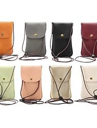 Informeel - Schoudertas / Muntenportemonnee / Mobile Phone Bag - Meerkleurig - Koeienhuid - Unisex