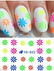 11  pcs  Mixed  Nail Sticker