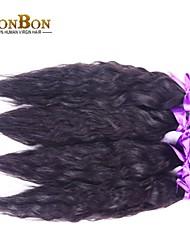 """8 """"-30"""" 1bundle malay rohes Menschenhaarspinnen natürliche Welle"""