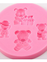 Christmas DIY Bear Cake Mould