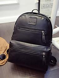 Women PU Weekend Bag Backpack - Green / Brown / Red / Black
