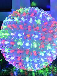 Christmas Led Lights Flashing Peach Blossom Ball Lamp Lights L 10CM PVC50 Led 220V