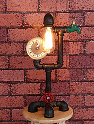 Retro Industrial Iron Pipe Lamp