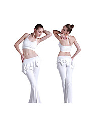 Yoga Clothing Sets/Suits Pants + Tops Breathable / Lightweight Materials / Stretch / Sweat-wicking / Removable Cups / SoftnessHigh