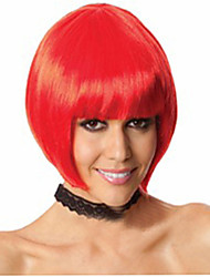 Hot Selling Factory Wholesale Red Color BoBo Head Is Euramerican Style Wig Hot Style