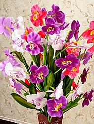 Soie / Plastique Orchidées Fleurs artificielles