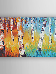 Oil Painting  Landscape Trees Hand Painted Canvas with Stretched Framed Ready to Hang