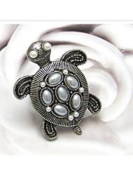 среднеевропейский профиль черепаха женские сплава заявление кольца (бронзовые) (1 шт)