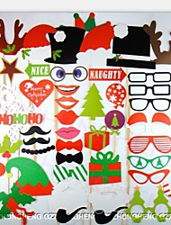 50 pcs Photo Props Booth for Christamas Party